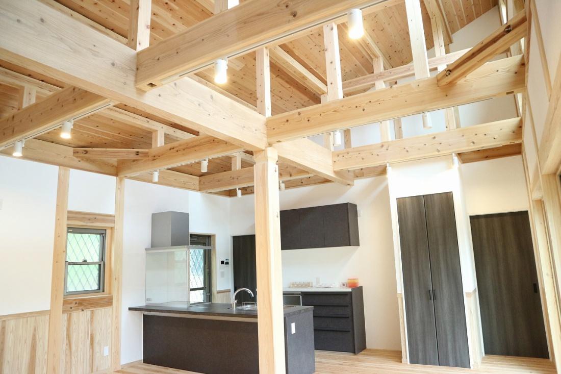 佐久間産業の施工イメージ:天井
