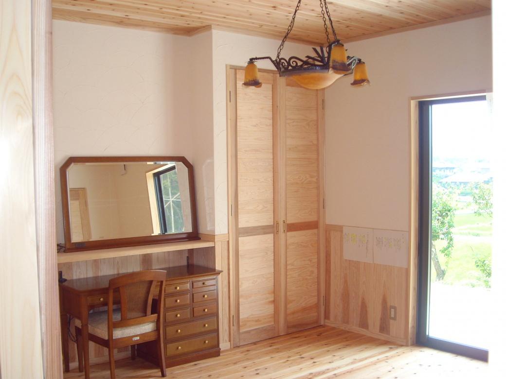 佐久間産業の施工イメージ:部屋
