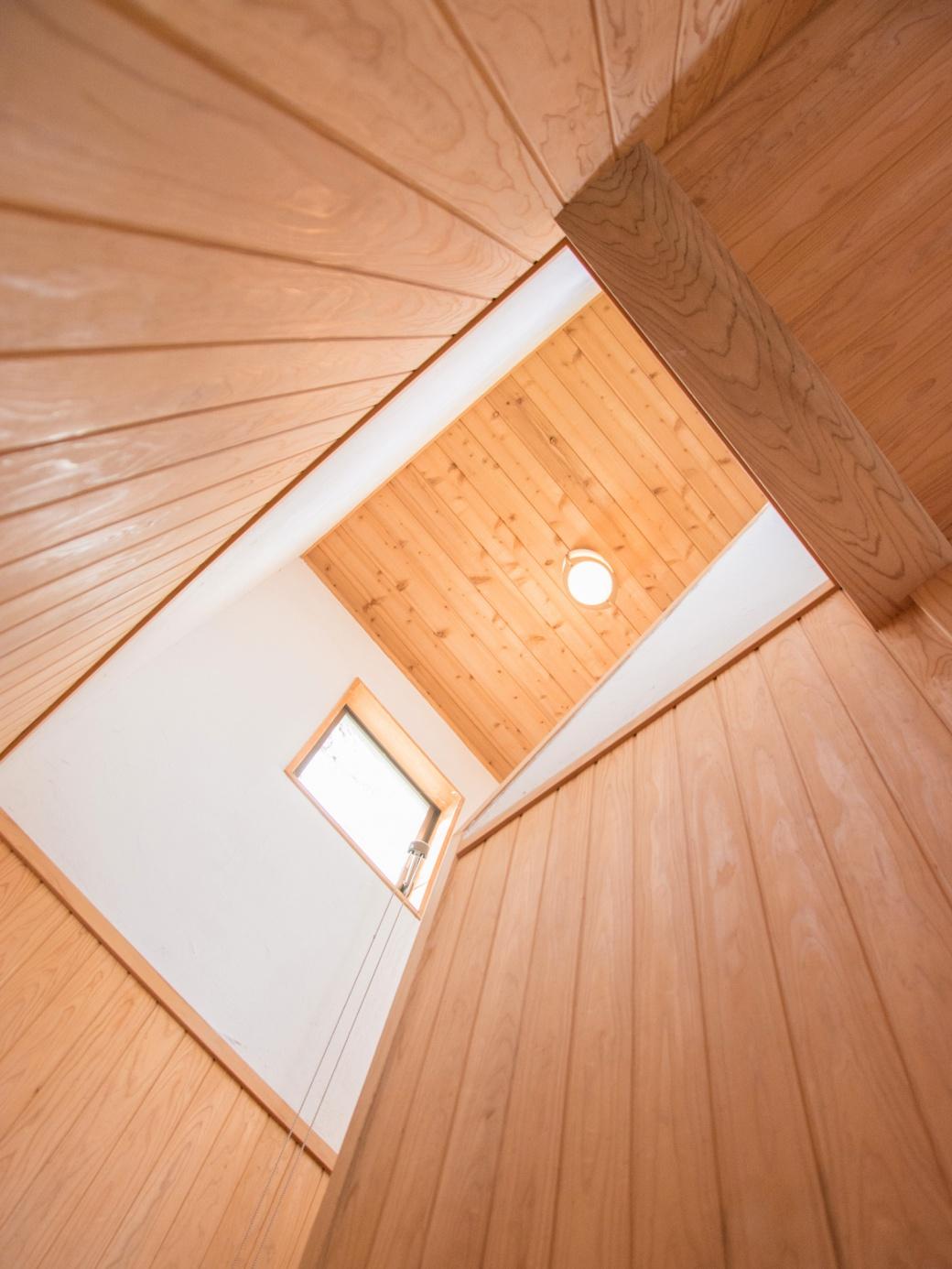 佐久間産業の施工イメージ:階段